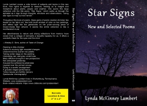Photo: Front and Back Cover of Star Signs: New and Selected Poems.